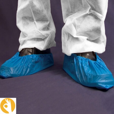 overschoenen blauw voordeelverpakking