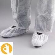 overschoenen wit