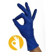 latex handschoenen blauw poedervrij