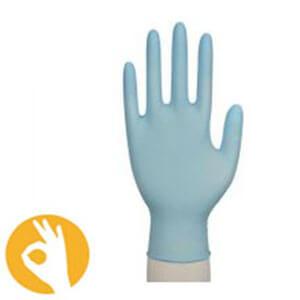 nitril handschoenen classic blauw poedervrij