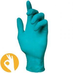 Nitril handschoen groen