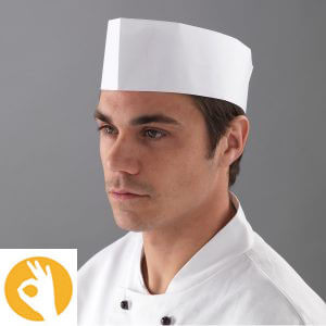 Papieren keukenmuts DM07