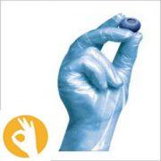 polysynthetische handschoen blauw