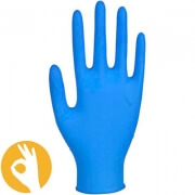 Nitril handschoen Ultra Sensitive blauw